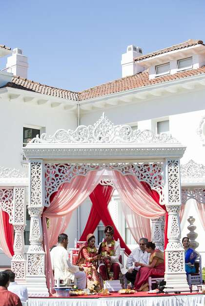 Bay Area match made in Bollywood: Multi-day wedding blends