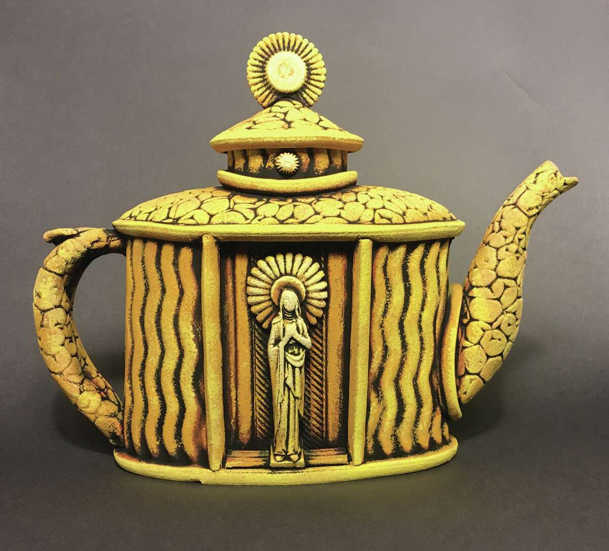 This teapot by Richard Wehrs will be featured in EAC's latest exhibit.