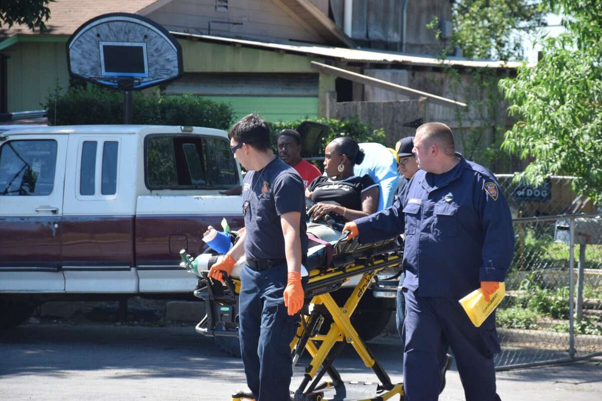 A woman was shot in the foot Wednesday, May 24, 2017, in the West Side by a suspect possibly using a rifle.