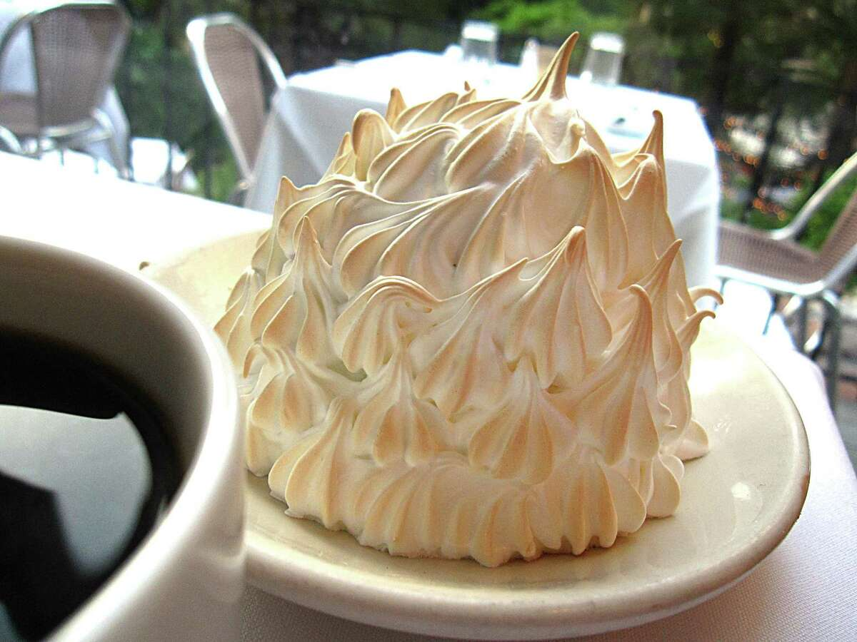 Alaska You can't expect Alaska's iconic pie to be anything other than its namesake-baked Alaska. Read more.