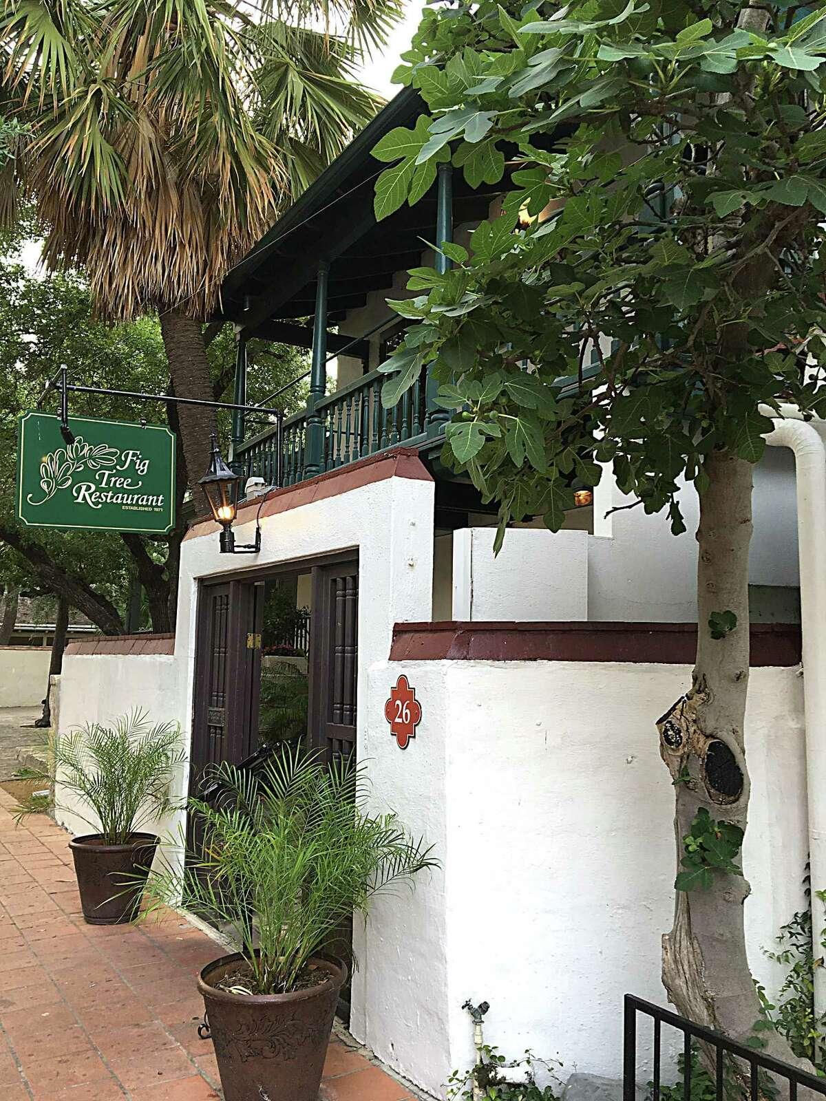 Fig Tree Restaurant 515 Villita St.  Featured in Express-News' list of Top 100 restaurants and bars