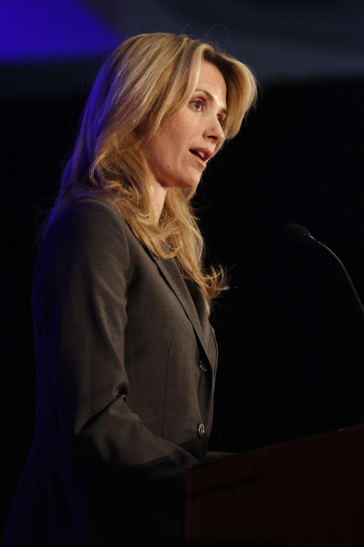 She used to be a registered Republican Siebel Newsom grew up in a politically conservative family, and was a registered Republican until 2008.