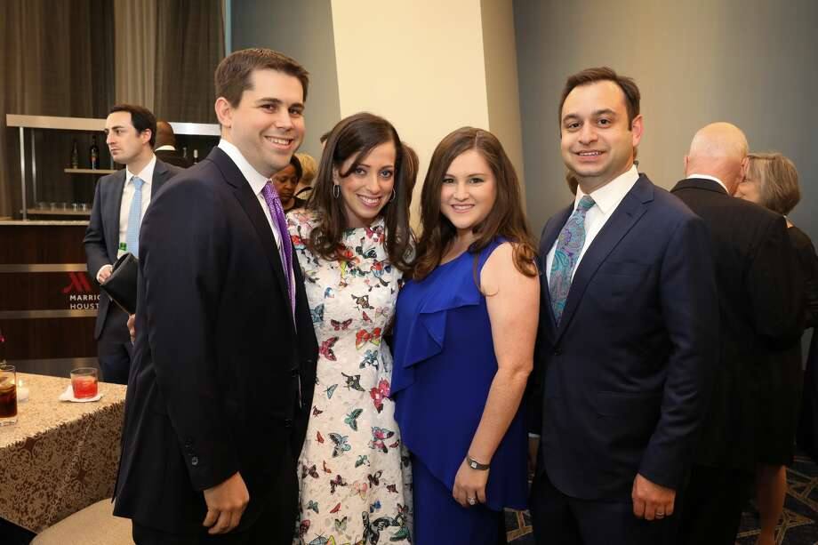 Steven and Stephanie Mitzner with Lauren Mitzner Paletz and Steven Paletz Photo: PRISCILLA DICKSON PHOTOGRAPHY