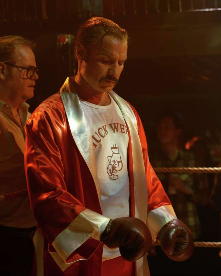 "This image released by IFC Films shows Liev Schreiber portraying boxer Chuck Wepner in a scene from the film, ""Chuck,"" opening in limited release on Friday. (Sarah Shatz/IFC Films via AP) ORG XMIT: NYET408 Photo: Sarah Shatz / IFC Films"