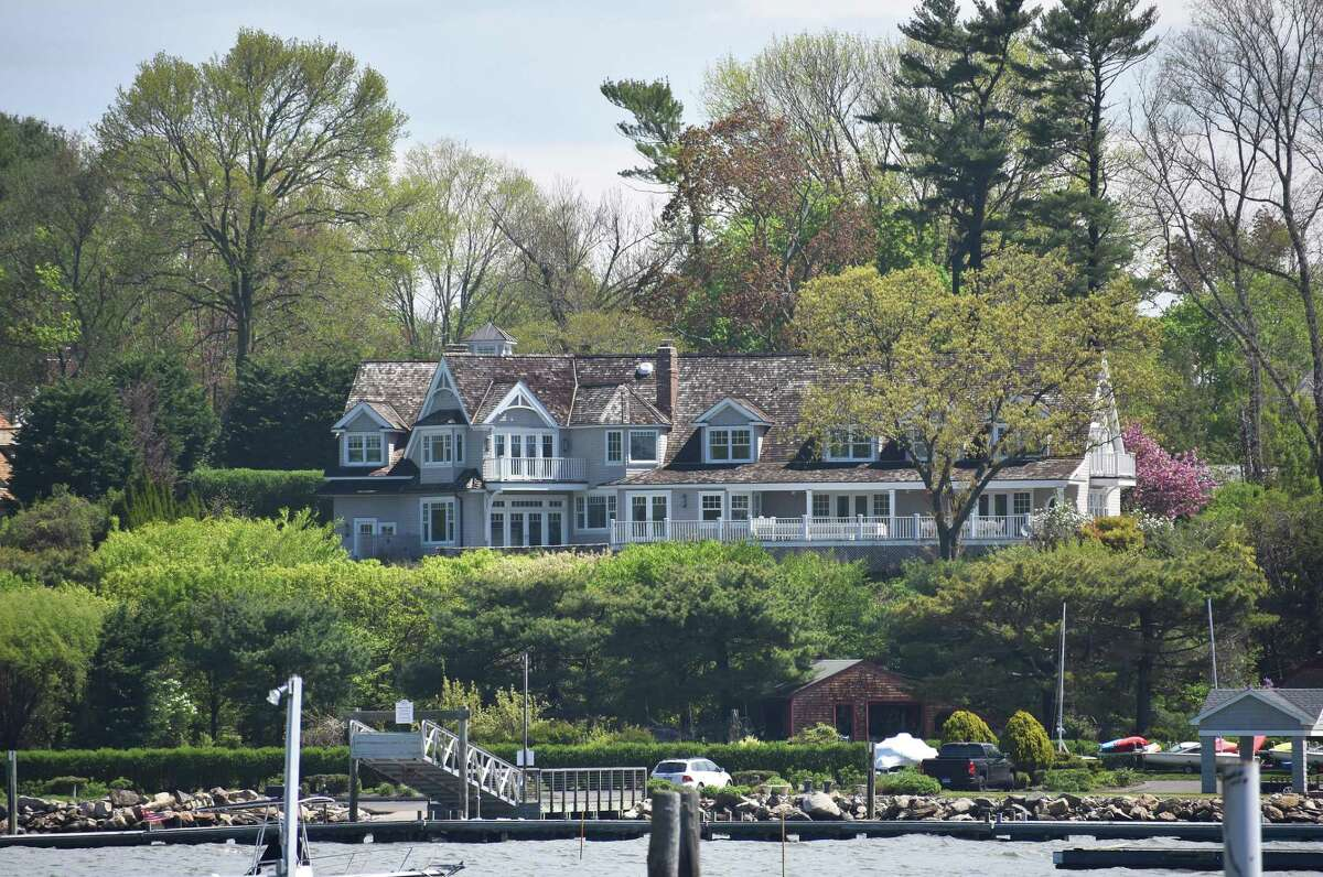 Kayak CEO Steve Hafner's former Wilson Point home in Norwalk, Conn., with the property sold for $5.5 million in late April 2017.