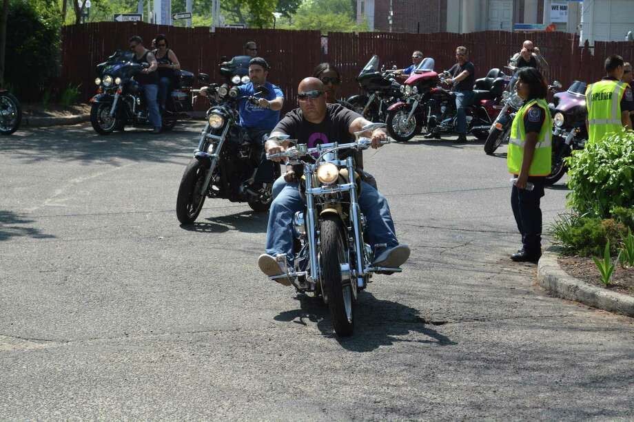 Hundreds of motorcycle enthusiasts from throughout Fairfield County and beyond will participate in the annual Ride Against Child Abuse, presented by the Ct United Ride in partnership with The Center for Family Justice. Photo courtesy of the Center for Family Justice. Photo: Contributed / Contributed