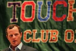 Major Applewhite spoke at The Touchdown Club of Houston and Independent Bank University of Houston Luncheon Wednesday, May 24, 2017, in Houston.