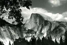 The Yosemite that comes to mind when  you think  of its natural  beauty and ruggedness. This is looking in the direction of Half Dome, with some deer grazing. September 20, 1990
