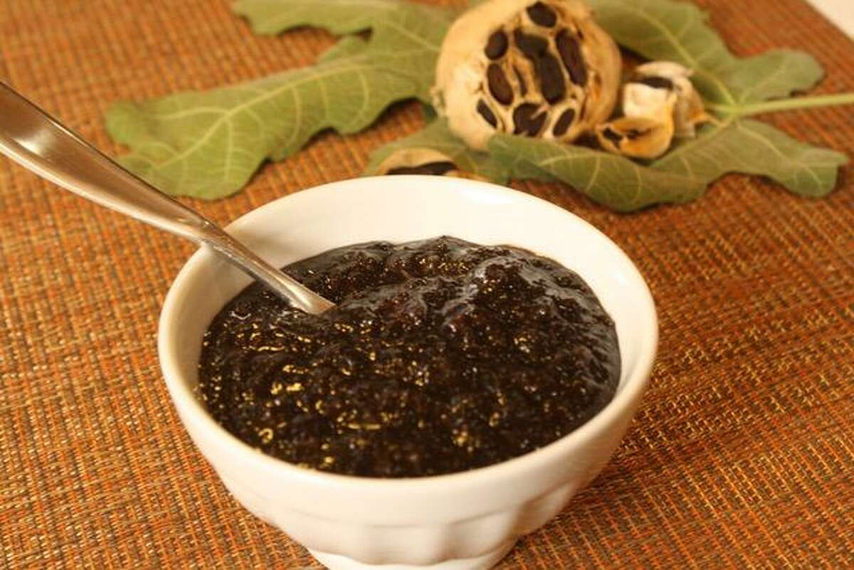 Bacon Jam is made with Texas Black Gold garlic and can be used in a variety of ways.