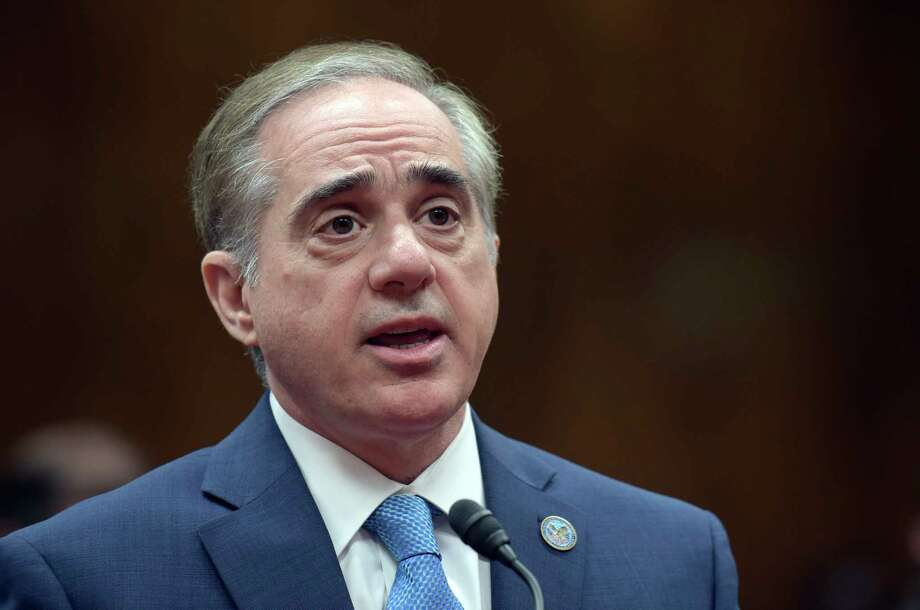 In this photo taken May 11, 2017, Veterans Affairs Secretary David Shulkin testifies on Capitol Hill in Washington. Shulkin is touting new efforts to expand urgent mental health care to thousands of former service members with less-than-honorable discharges. But he's also acknowledging his department isn't seeking additional money to pay for it.   (AP Photo/Susan Walsh) Photo: Susan Walsh, STF / Copyright 2017 The Associated Press. All rights reserved.