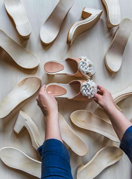 Bryr and Windy Chien's collaboration clog will be sold exclusively on http://bryrstudio.com and at Bryr, 2331 Third St., S.F., through the end of the summer. Photo: Annie Martin
