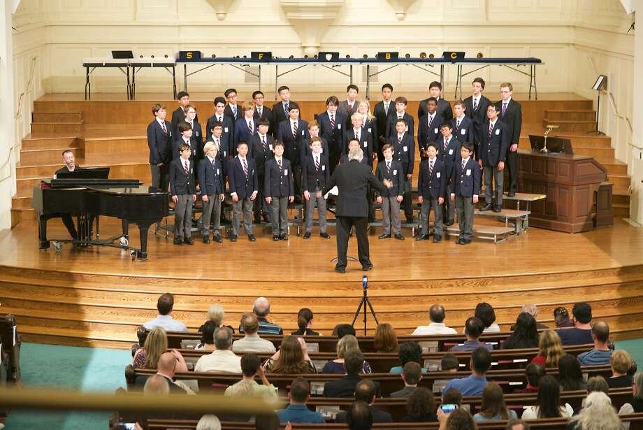 Ian Robertson will lead the S.F. Boys Chorus in its summer concert. Photo: SF Boys Chorus