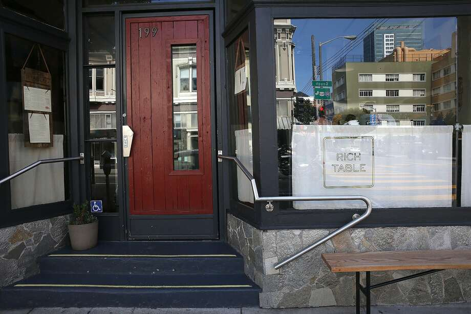Rich Table on Gough Street in Hayes Valley. Photo: Liz Hafalia, The Chronicle