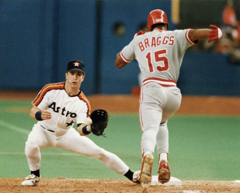 An under-the-radar deal before the August 31, 1990, trade deadline netted the Astros a future franchise cornerstone in Jeff Bagwell. Photo: HC Staff / Houston Chronicle