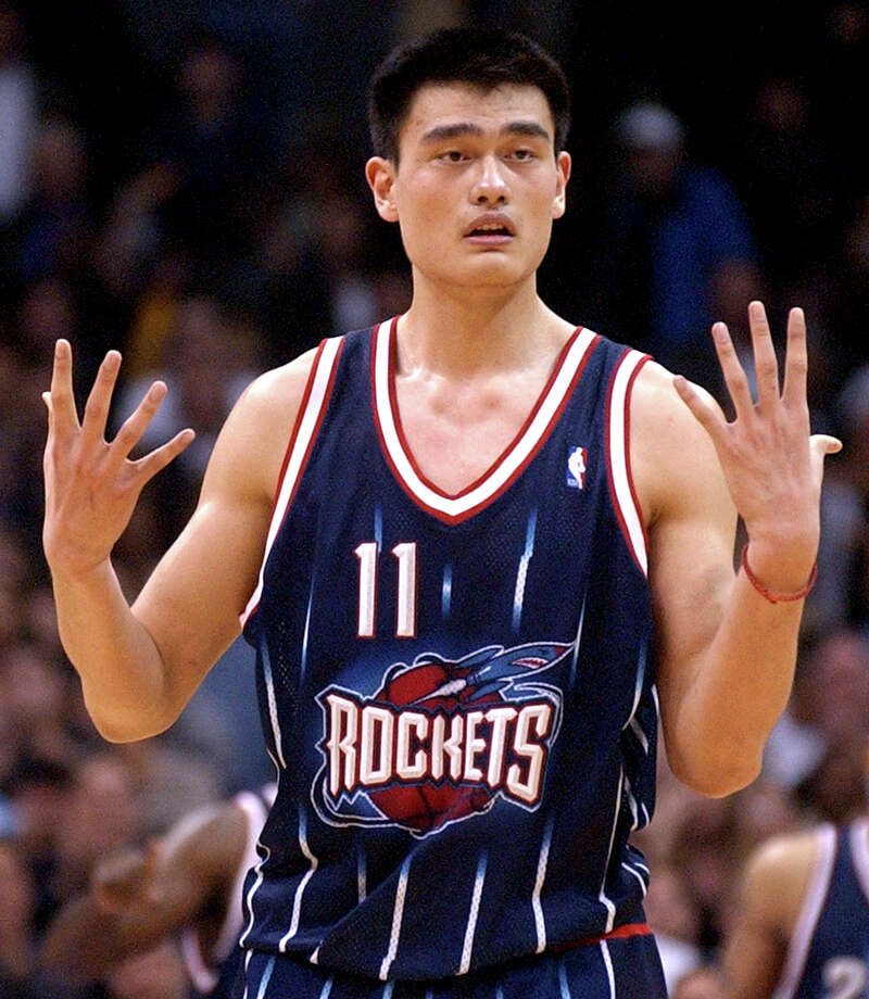 Former Rockets center Yao Ming makes donation to Hurricane ...