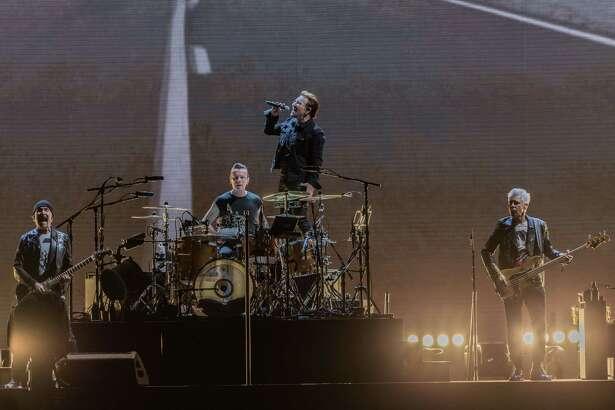 May 24, 2017:  U2 performed in concert at NRG Stadium in Houston, Texas. (Leslie Plaza Johnson/Freelance