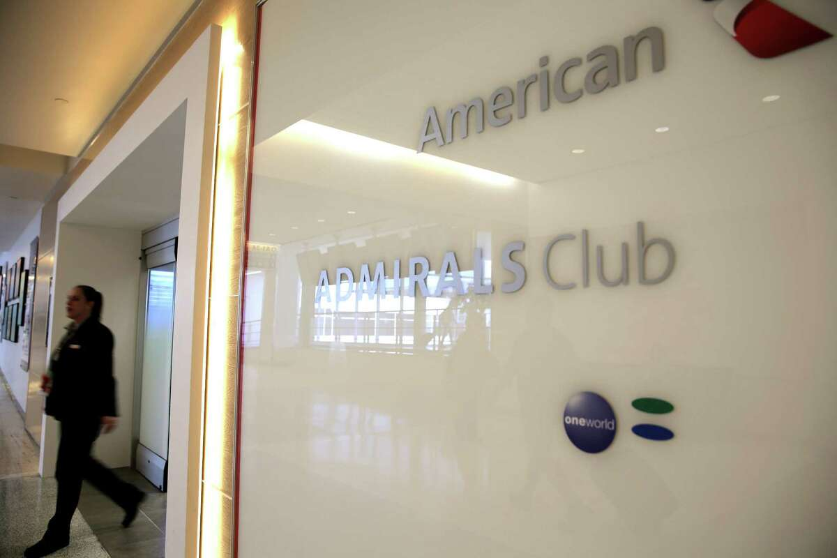 Photos of the new Admirals Club for American Airlines customers at Terminal A at IAH on Wednesday, May 24, 2017, in Houston. The club has its official opening June 12. ( Elizabeth Conley / Houston Chronicle )