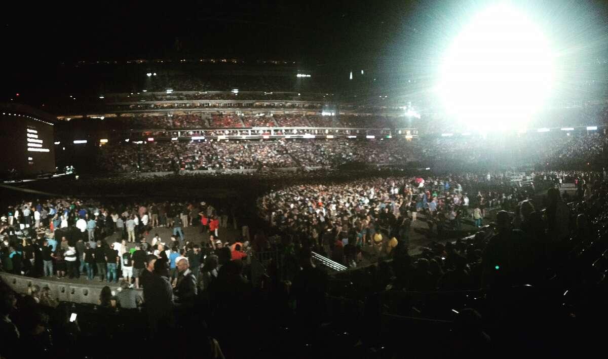 Most popular concert venue: NRG Stadium