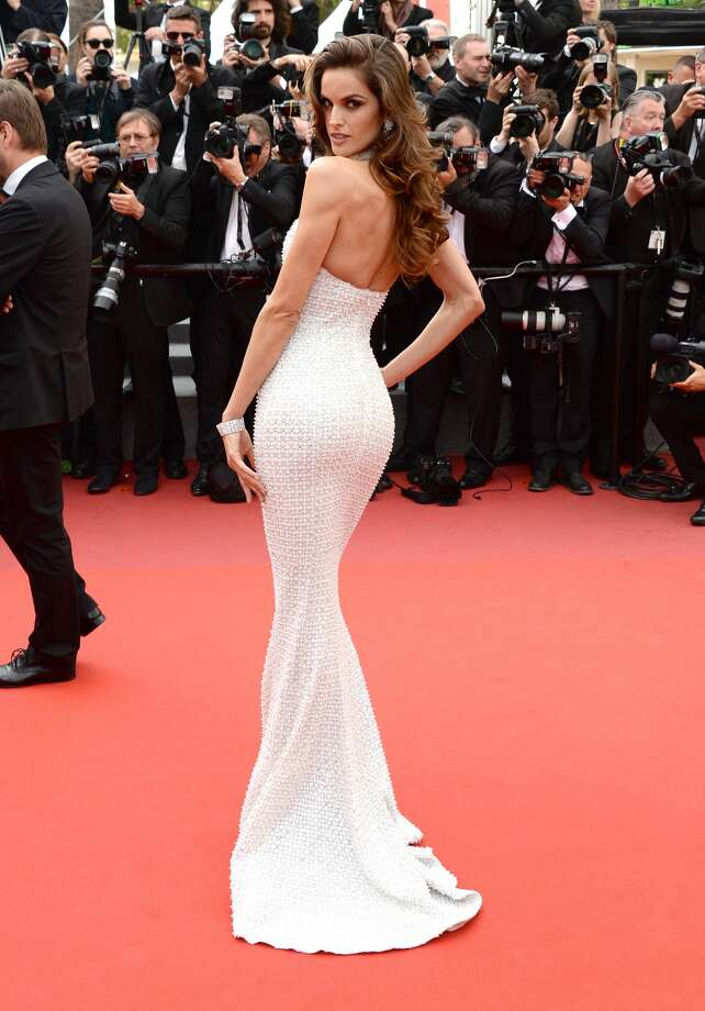 "Izabel Goulart attends the ""The Killing Of A Sacred Deer"" screening during the 70th annual Cannes Film Festival at Palais des Festivals on May 22, 2017.Keep clicking to see every dress worn by every supermodel at the events of the 2017 Cannes Film Festival.  Photo: Anthony Harvey/FilmMagic"
