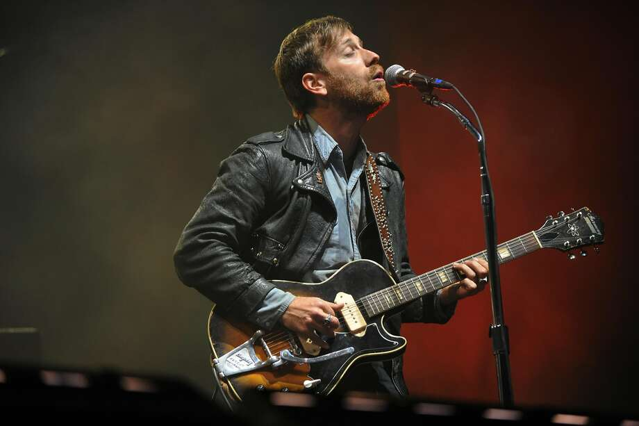Dan Auerbach performs with the Black Keys during their set at the 2013 BottleRock festival. Photo: Erik Castro, Special To The Chronicle