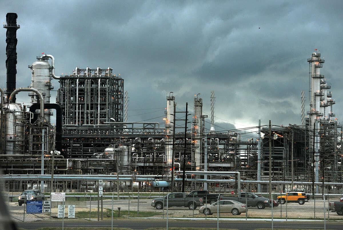 Motiva Enterprises in Port Arthur. Photo taken Thursday, May 31, 2012 Guiseppe Barranco/The Enterprise