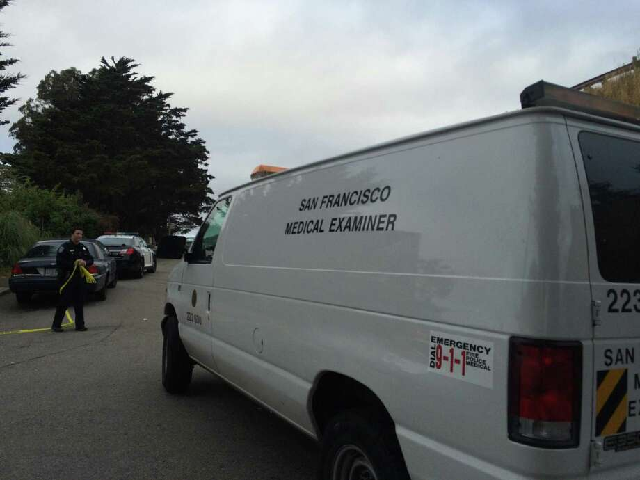 San Francisco Police launched a homicide investigation Thursday morning after a man was found stabbed to death in Bernal Heights Park. Photo: Sarah Ravani / The Chronicle / /
