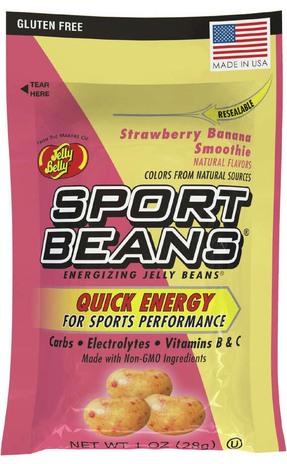 The nutritional panel on Jelly Belly Sports Beans indicated a single serving contains 17 grams of sugar. Photo: Jelly Belly