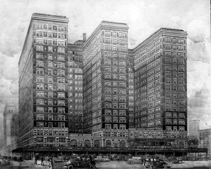 04/28/1924 - illustration of Rice Hotel
