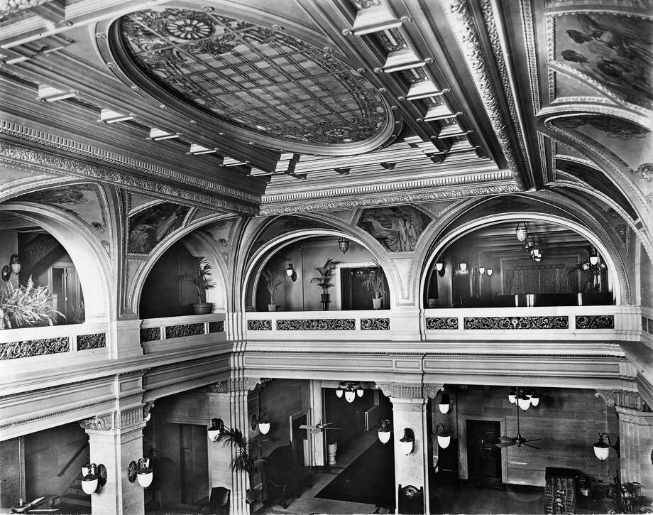 This is what the lobby of the Rice Lofts - previously the Rice Hotel - used to look like. / handout