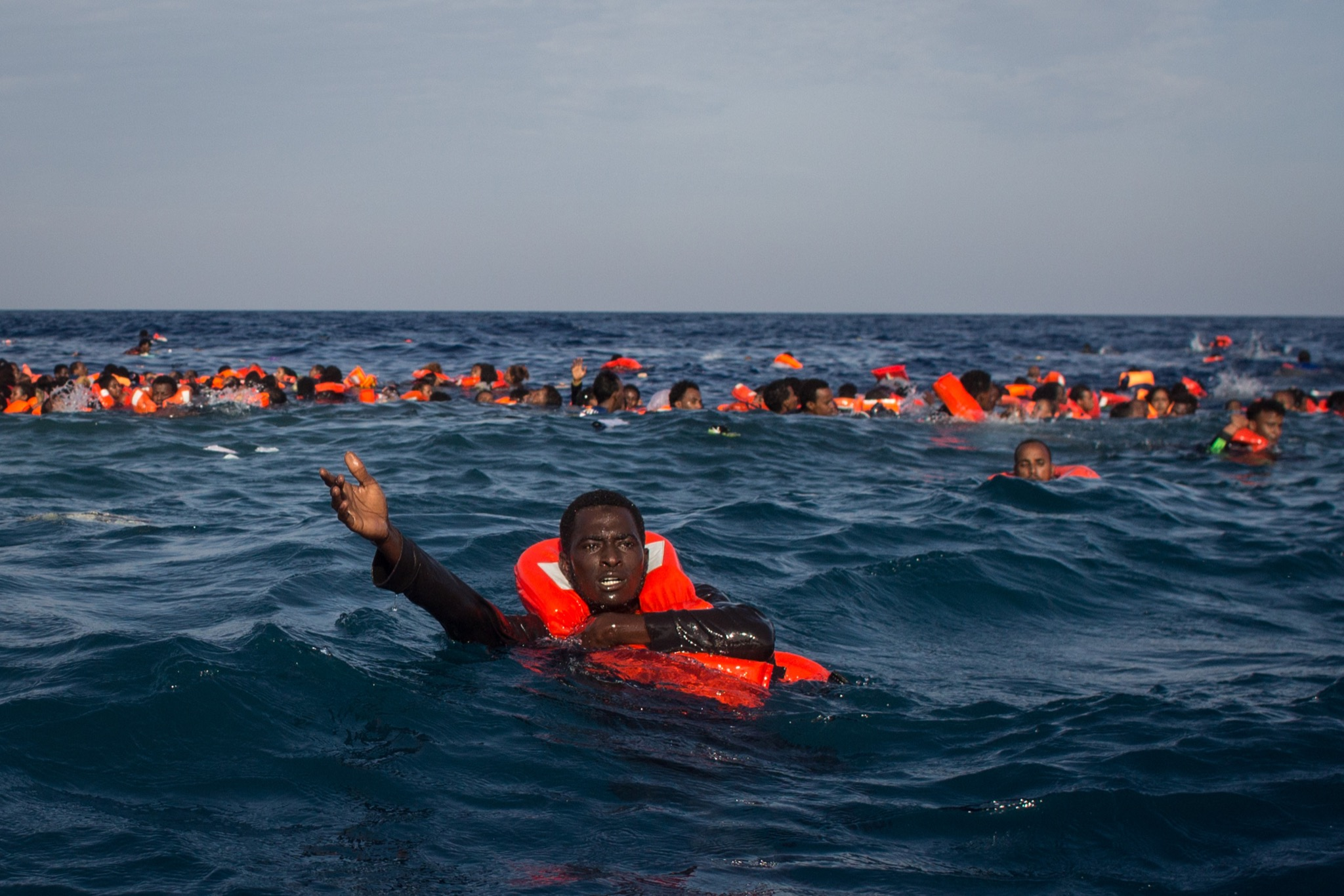 Rescuers say 34 migrant bodies pulled from sea off Libya