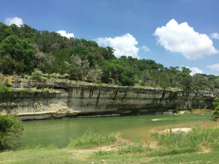 The Guadalupe River stretches for 2 miles inside Guadalupe River State Park. The River features picnic areas, trail viewpoints and ample opportunity for swimming, kayaking, canoeing and whitewater rafting. Photo: Jakob Lopez /For The Express-News