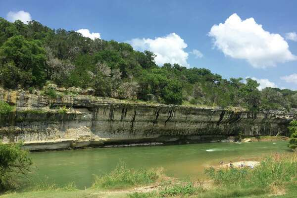 The Guadalupe River stretches for 2 miles inside Guadalupe River State Park. The River features picnic areas, trail viewpoints and ample opportunity for swimming, kayaking, canoeing and whitewater rafting.