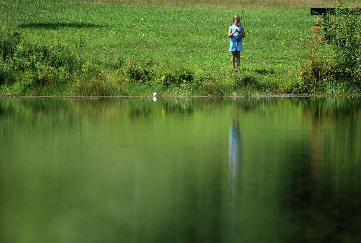 File photo of someone fishing for catfish.