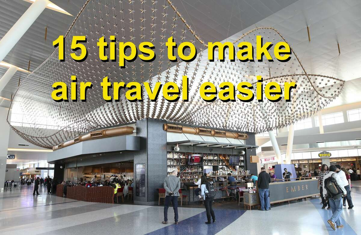 A number of travel websites offer tips and tricks to take the trouble out of flying.