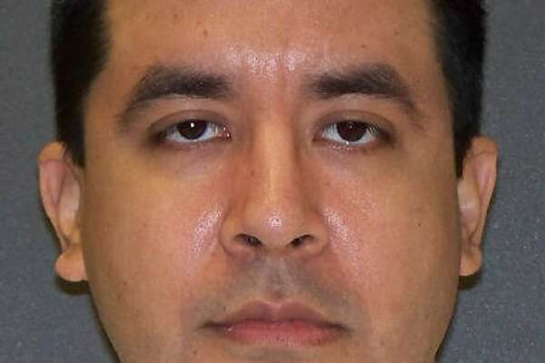 This undated photo provided by the Texas Department of Criminal Justice shows inmate Rosendo Rodriguez. Rodriguez, on Texas death row for the 2005 slaying of a pregnant Lubbock woman whose body was stuffed inside a piece of luggage found at the Lubbock city landfill, has lost a federal court appeal. The 5th U.S. Circuit Court of Appeals ruling ruling late Wednesday, May 24, 2017, moves Rodriguez, 37, one step closer to lethal injection for the fatal beating and choking of 29-year-old Summer Baldwin. (Texas Department of Criminal Justice via AP)