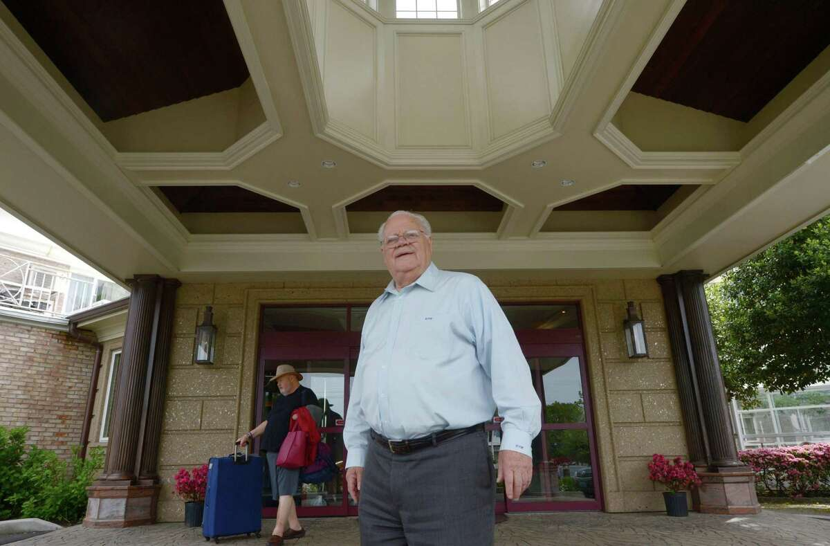 Norwalk Inn and Conference Center owner Chris Handrinos leads a tour of his renovated property Tuesday, May 23, 2017, including the new third floor that is not yet open for guests at their East Ave location in Norwalk, Conn.
