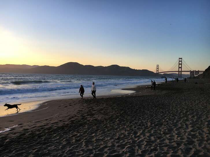 Sunset at Baker Beach in San Francisco is the setting several times a week for �Sunset Silent Disco Yoga,� an experience led by Outdoor Yoga SF that is now being offered through Airbnb's new Trips platform. The idea, organizers say, is to allow travelers to connect with locals and other travelers, preferably in a great spot.