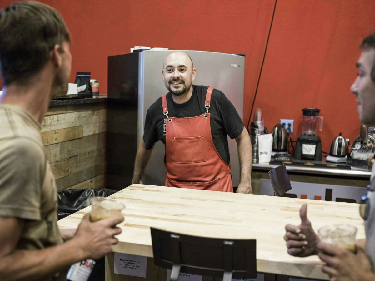 James Mireles, co-owner of Pulp Coffee Roaster, a coffee and tea private label wholesale manufacturer located inside the LocalSprout Food Hub, is one of the businesses that will be featured at the weekly Midweek Market from 5 p.m. to 8 p.m. Wednesdays starting April 25.