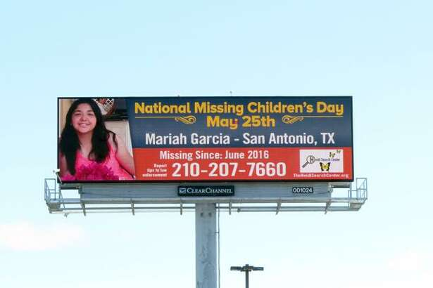 The Heidi Search Center and Clear Channel Outdoor Americas launched a monthlong campaign Thursday to help generate leads in the case of 15-year-old Mariah Garcia, who has been missing since June.