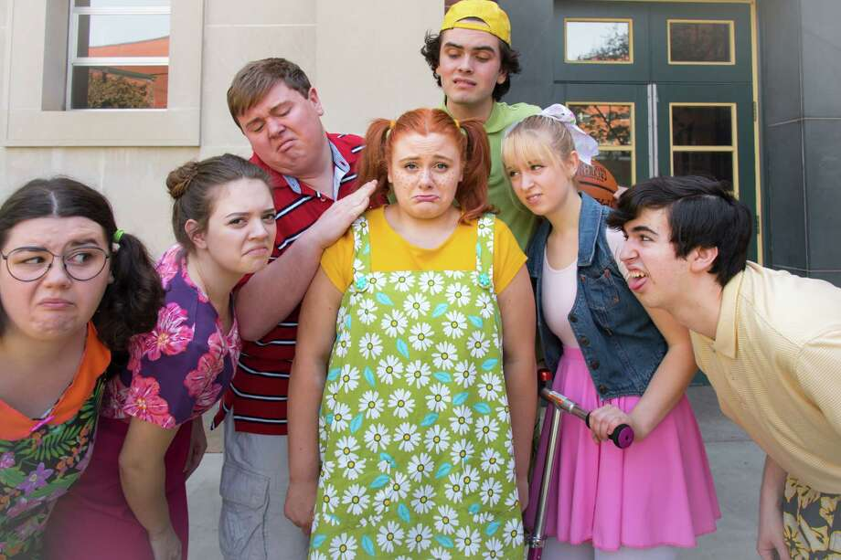 "Cast of ""Freckleface Strawberry"" Photo: Courtesy of the Theatre Institute at Sage Photo: Tamara_Hansen / © The Sage Colleges 2017"
