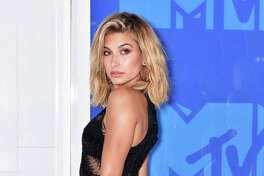 Hailey Baldwin attends the 2016 MTV Video Music Awards Arrivals at Madison Square Garden on August 28, 2016 in New York City. (Photo by Jared Siskin/Patrick McMullan via Getty Images)