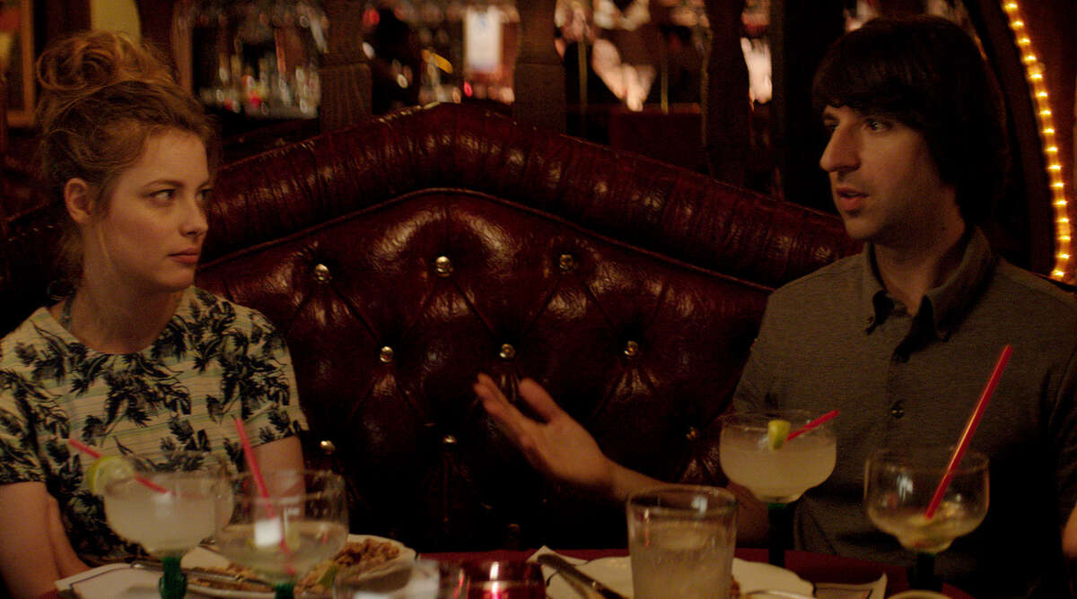 "Gillian Jacobs plays Demetri Martin's love interest in ""Dean."""