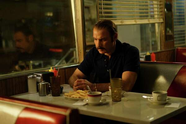 """This image released by IFC Films shows Liev Schreiber portraying boxer Chuck Wepner in a scene from the film, """"Chuck,"""" opening in limited release on Friday. (Sarah Shatz/IFC Films via AP) ORG XMIT: NYET409"""