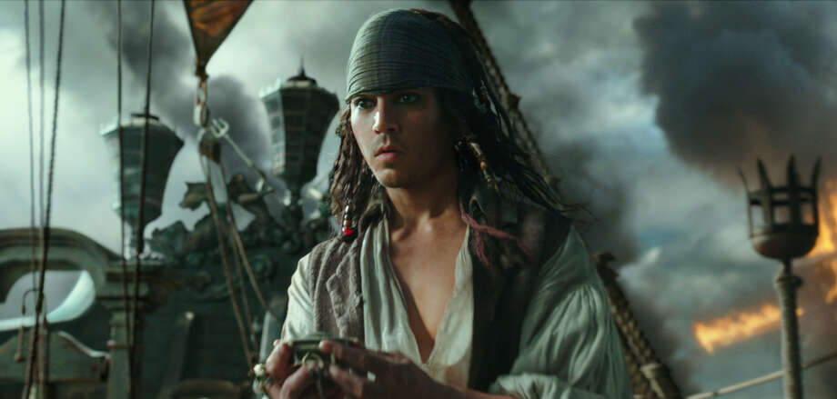 """Johnny Depp reprises the role of Jack Sparrow in """"Pirates of the Caribbean: Dead Men Tell No Tales."""" Photo: Film Frame, HONS / ©Disney Enterprises, Inc. All Rights Reserved"""