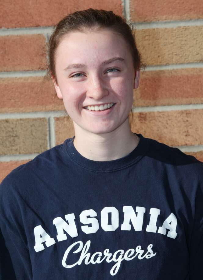 Tierney Lawlor in her days as an Ansonia Charger basketball player. Photo: Unknown / B.K. Angeletti / Connecticut Post freelance B.K. Angeletti