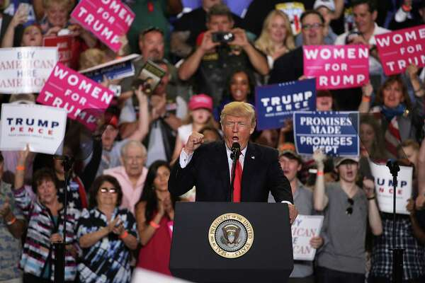 """President Donald Trump speaks to supporters during a """"Make America Great Again Rally"""" atApril 29 in Harrisburg, Pennsylvania. The alienation that gave rise to Trump is not a cohesive movement capable of governance."""