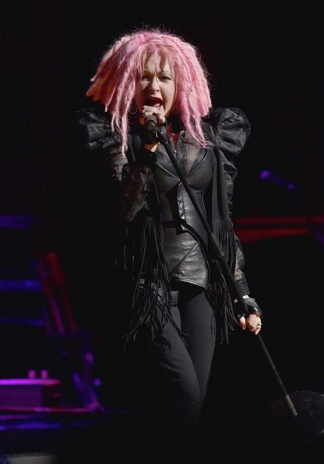NEW YORK, NY - MAY 25:  Cyndi Lauper performs in concert at the Beacon Theatre on May 25, 2016 in New York City.  (Photo by Dimitrios Kambouris/Getty Images) Photo: Dimitrios Kambouris / Getty Images / 2016 Getty Images