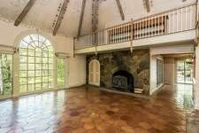 """Cyndi Lauper's North Stamford home, her creative retreat where she wrote """"Kinky Boots,"""" is listed with Berkshire Hathaway New England for $1.25 million."""
