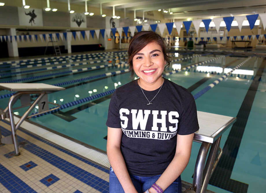 Spring Woods High School seniorZaida Morales has defied the odds to graduate with her class. Photo: Rusty Graham / Spring Branch ISD
