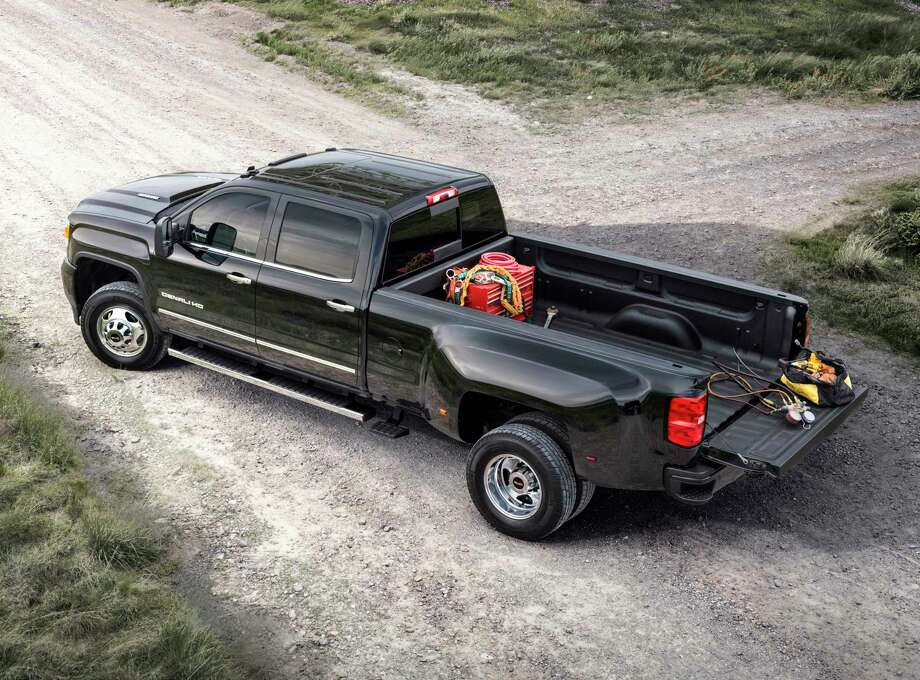 The 2015 Sierra 3500 features an all-new exterior designed to reduce wind noise and enhance powertrain cooling for more consistent performance.  The all-new interior is quiet and comfortable, with ample storage for work or travel and the intuitive connectivity of IntelliLink.  Customers can chose from gasoline, CNG or diesel power, including the legendary Duramax turbodiesel and Allison transmission. The Sierra 3500 offers class-leading available payload and conventional towing.
